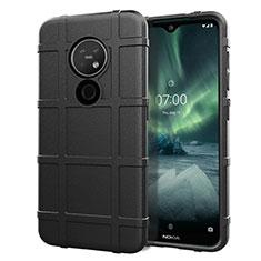Funda Silicona Ultrafina Goma 360 Grados Carcasa para Nokia 6.2 Negro