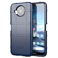 Funda Silicona Ultrafina Goma 360 Grados Carcasa para Nokia 8.3 5G Azul
