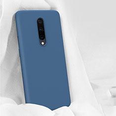 Funda Silicona Ultrafina Goma 360 Grados Carcasa para OnePlus 7 Pro Azul