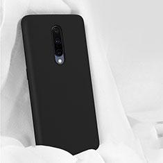 Funda Silicona Ultrafina Goma 360 Grados Carcasa para OnePlus 7 Pro Negro