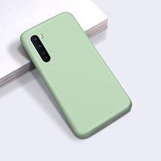 Funda Silicona Ultrafina Goma 360 Grados Carcasa para OnePlus Nord Menta Verde