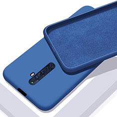 Funda Silicona Ultrafina Goma 360 Grados Carcasa para Oppo Reno2 Z Azul