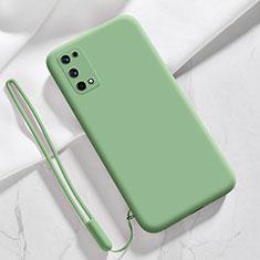 Funda Silicona Ultrafina Goma 360 Grados Carcasa para Realme Q2 Pro 5G Menta Verde