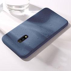 Funda Silicona Ultrafina Goma 360 Grados Carcasa para Realme X Azul