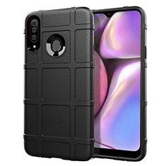 Funda Silicona Ultrafina Goma 360 Grados Carcasa para Samsung Galaxy A20s Negro