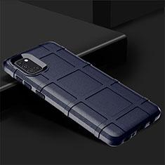 Funda Silicona Ultrafina Goma 360 Grados Carcasa para Samsung Galaxy A31 Azul