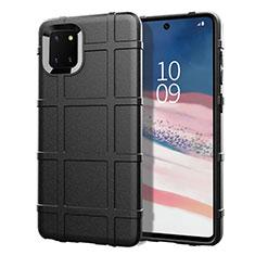 Funda Silicona Ultrafina Goma 360 Grados Carcasa para Samsung Galaxy A81 Negro