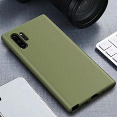 Funda Silicona Ultrafina Goma 360 Grados Carcasa para Samsung Galaxy Note 10 Plus 5G Verde