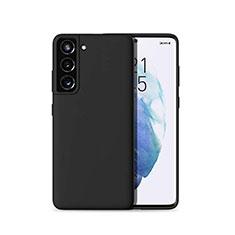 Funda Silicona Ultrafina Goma 360 Grados Carcasa para Samsung Galaxy S21 Plus 5G Negro