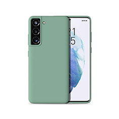 Funda Silicona Ultrafina Goma 360 Grados Carcasa para Samsung Galaxy S21 Plus 5G Verde