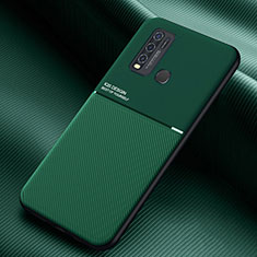 Funda Silicona Ultrafina Goma 360 Grados Carcasa para Vivo Y50 Verde