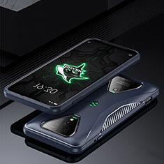 Funda Silicona Ultrafina Goma 360 Grados Carcasa para Xiaomi Black Shark 3 Azul