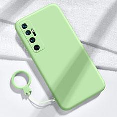 Funda Silicona Ultrafina Goma 360 Grados Carcasa para Xiaomi Mi 10 Ultra Menta Verde