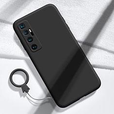 Funda Silicona Ultrafina Goma 360 Grados Carcasa para Xiaomi Mi 10 Ultra Negro