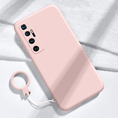 Funda Silicona Ultrafina Goma 360 Grados Carcasa para Xiaomi Mi 10 Ultra Rosa