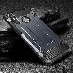 Funda Silicona Ultrafina Goma 360 Grados Carcasa para Xiaomi Mi Max 3 Azul