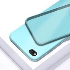 Funda Silicona Ultrafina Goma 360 Grados Carcasa para Xiaomi Redmi Go Cian