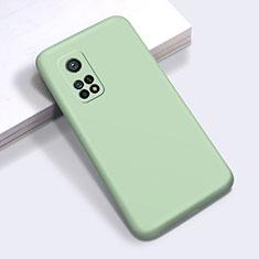 Funda Silicona Ultrafina Goma 360 Grados Carcasa para Xiaomi Redmi K30S 5G Menta Verde
