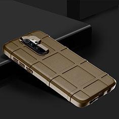 Funda Silicona Ultrafina Goma 360 Grados Carcasa para Xiaomi Redmi Note 8 Pro Marron