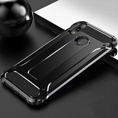 Funda Silicona Ultrafina Goma 360 Grados Carcasa S01 para Huawei Enjoy 9 Plus Negro