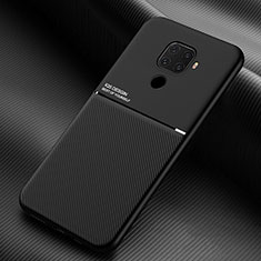 Funda Silicona Ultrafina Goma 360 Grados Carcasa S01 para Huawei Nova 5z Negro