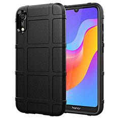 Funda Silicona Ultrafina Goma 360 Grados Carcasa S01 para Huawei Y6 Prime (2019) Negro