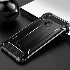 Funda Silicona Ultrafina Goma 360 Grados Carcasa S01 para Huawei Y9 (2019) Negro