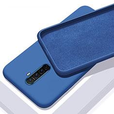 Funda Silicona Ultrafina Goma 360 Grados Carcasa S01 para Realme X2 Pro Azul