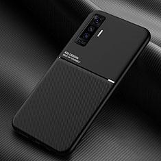 Funda Silicona Ultrafina Goma 360 Grados Carcasa S01 para Vivo X50 5G Negro