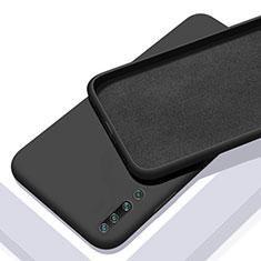 Funda Silicona Ultrafina Goma 360 Grados Carcasa S01 para Xiaomi Mi 10 Negro