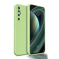 Funda Silicona Ultrafina Goma 360 Grados Carcasa S01 para Xiaomi Mi 10 Ultra Menta Verde