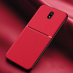 Funda Silicona Ultrafina Goma 360 Grados Carcasa S01 para Xiaomi Redmi 8A Rojo