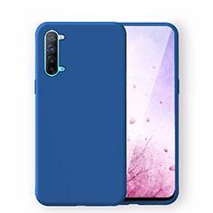 Funda Silicona Ultrafina Goma 360 Grados Carcasa S02 para Oppo Find X2 Lite Azul