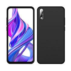 Funda Silicona Ultrafina Goma 360 Grados Carcasa S04 para Huawei Honor 9X Negro