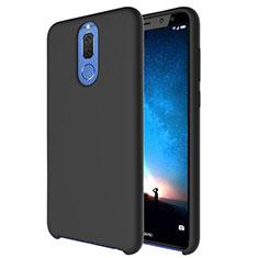 Funda Silicona Ultrafina Goma 360 Grados Carcasa S04 para Huawei Mate 10 Lite Negro