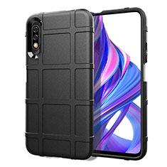 Funda Silicona Ultrafina Goma 360 Grados Carcasa S05 para Huawei Honor 9X Negro
