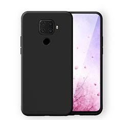 Funda Silicona Ultrafina Goma 360 Grados Carcasa S06 para Huawei Mate 30 Lite Negro