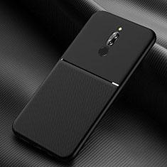 Funda Silicona Ultrafina Goma 360 Grados Carcasa S06 para Xiaomi Redmi 8 Negro