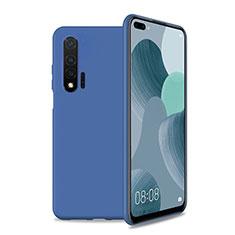 Funda Silicona Ultrafina Goma 360 Grados Carcasa T01 para Huawei Nova 6 5G Azul