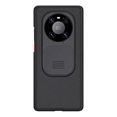 Funda Silicona Ultrafina Goma 360 Grados D01 para Huawei Mate 40 Pro Negro