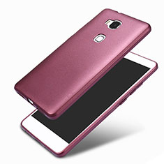 Funda Silicona Ultrafina Goma 360 Grados para Huawei GR5 Morado