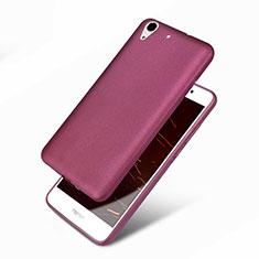Funda Silicona Ultrafina Goma 360 Grados para Huawei Honor Holly 3 Morado