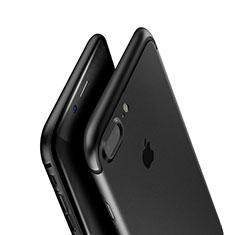 Funda Silicona Ultrafina Goma A01 para Apple iPhone 8 Plus Negro