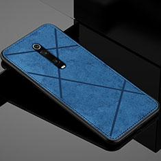 Funda Silicona Ultrafina Goma Carcasa C03 para Xiaomi Mi 9T Pro Azul