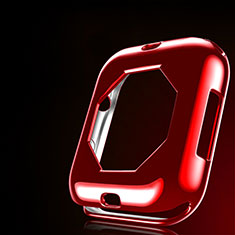 Funda Silicona Ultrafina Goma Carcasa S01 para Apple iWatch 4 40mm Rojo
