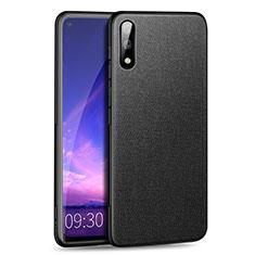 Funda Silicona Ultrafina Goma Carcasa S01 para Huawei Enjoy 10 Negro