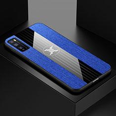Funda Silicona Ultrafina Goma Carcasa S01 para Huawei Enjoy 20 Pro 5G Azul