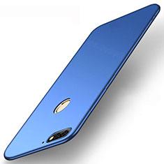 Funda Silicona Ultrafina Goma Carcasa S01 para Huawei Enjoy 8e Azul