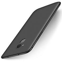 Funda Silicona Ultrafina Goma Carcasa S01 para Huawei Honor 6C Negro