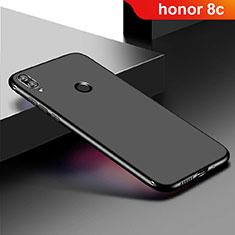 Funda Silicona Ultrafina Goma Carcasa S01 para Huawei Honor Play 8C Negro